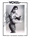 Ricky Steamboat Pose 11 Signed Photo COA