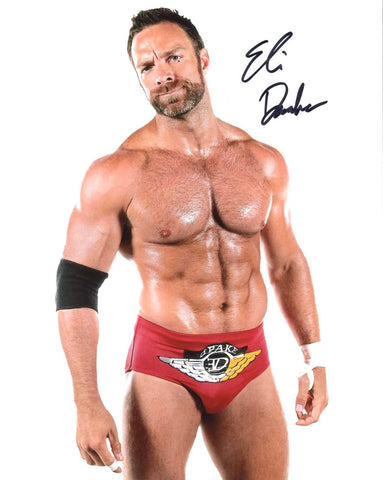 Eli Drake Pose 2 Signed Photo COA