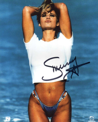 Sunny Pose 3 Signed Bikini Photo COA
