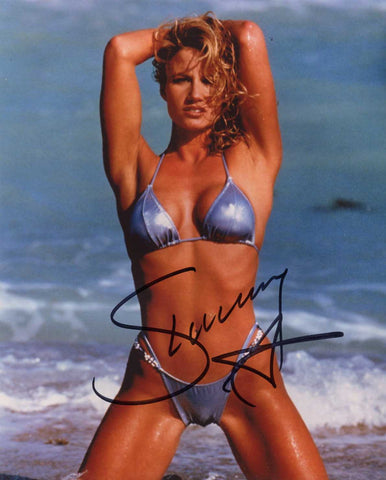 Sunny Pose 2 Signed Bikini Photo COA