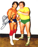 Ricky Steamboat Pose 12 Signed Photo COA
