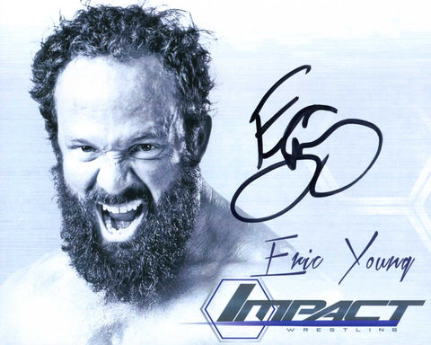 Eric Young Pose 4 Signed Photo COA