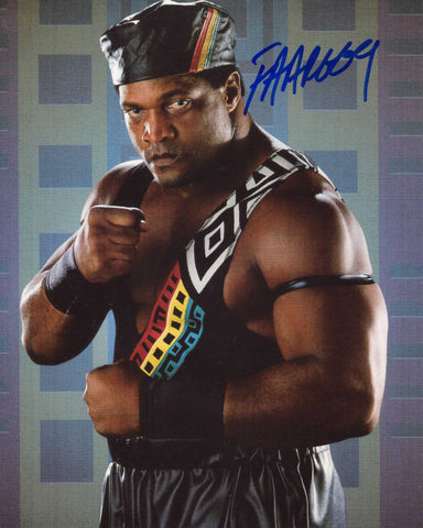 Faarooq (Ron Simmons) Pose 2 Signed Photo COA