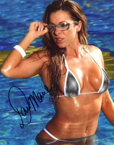 Dawn Marie Pose 5 Signed Photo COA