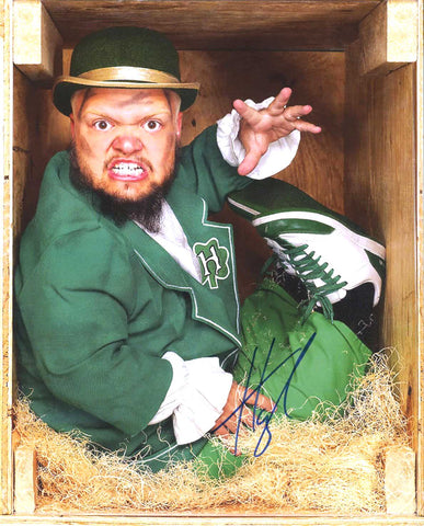 Hornswoggle Swoggle Pose 5 Signed Photo COA