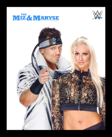 The Miz & Maryse Official WWE 2019 Promo (UNSIGNED)