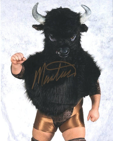 Mantaur Pose 2 Signed Photo COA