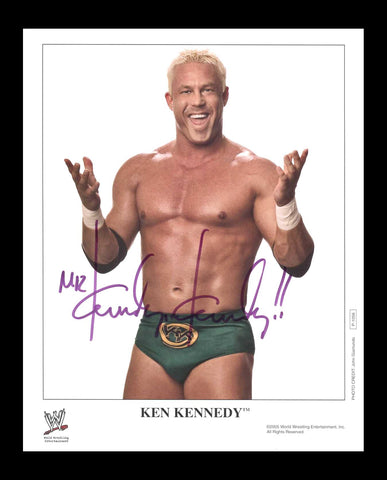 Ken Kennedy Official WWE Signed Promo 2005 Photo COA
