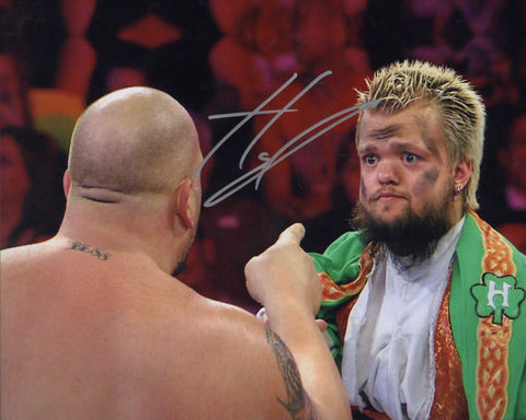 Hornswoggle Swoggle Pose 1 Signed Photo COA