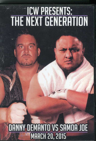 ICW Impact Championship Wrestling The Next Generation 3/20/15 DVD