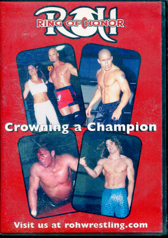 ROH Ring Of Honor Crowning A Champion Philadelphia 7/27/02 DVD OOP
