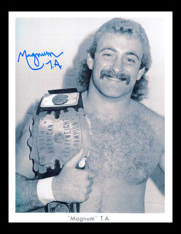 Magnum TA Pose 3 Signed Photo COA
