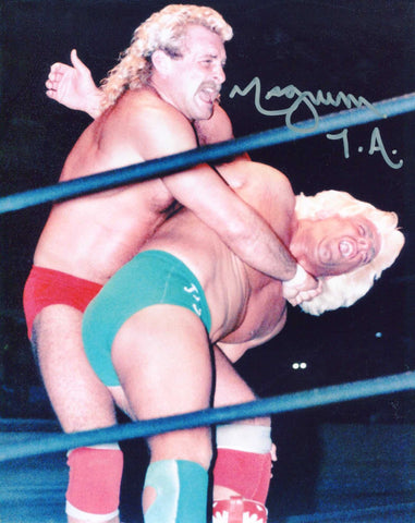 Magnum TA Pose 6 Signed Photo COA