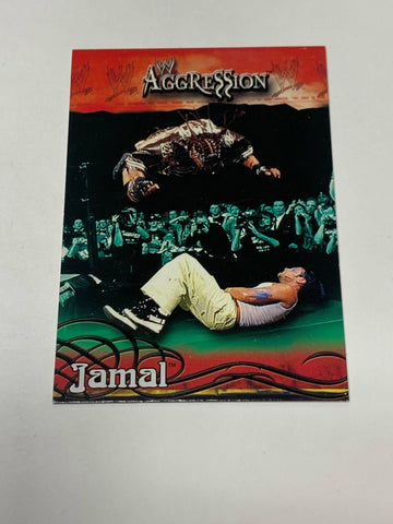 Jamal aka Umaga WWE 2003 Fleer Aggression ROOKIE #16