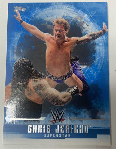 Chris Jericho 2017 Topps WWE Undisputed Card #10