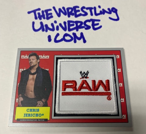 Chris Jericho Topps Heritage 2017 Commemorative Patch #/25