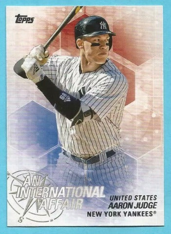 Aaron Judge 2018 Topps Chrome Update An International Affair
