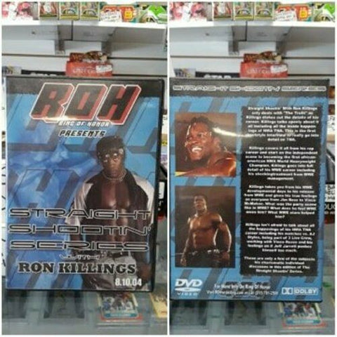 ROH Ring Of Honor Straight Shooting Series with Ron Killings 8.10.04 DVD