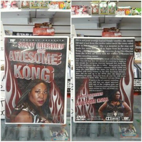 RF Video Shoot Interview with Awesome Kong DVD