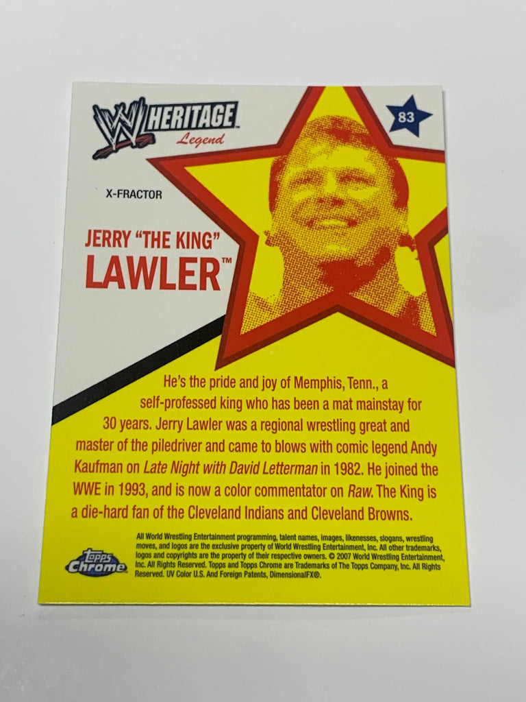 Jerry Lawler Signed WWE Hall of Fame Figure COA