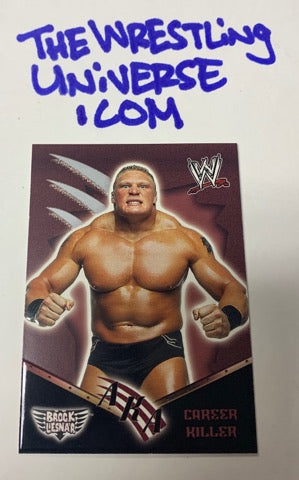 Brock Lesnar WWE 2002 Fleer ROOKIE