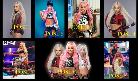 Private Signing with WWE Diva Liv Morgan CHOOSE SIGNED PHOTO $25/OR WITH Personalization $30