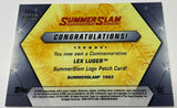 Lex Luger 2019 Topps WWE Summer Slam 1993 Logo Patch #/25