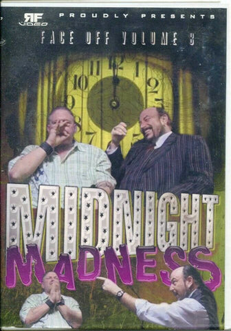 RF Video Face Off Vol. 8 Midnight Madness Raven Jim Mitchell (Sinister Minister) DVD