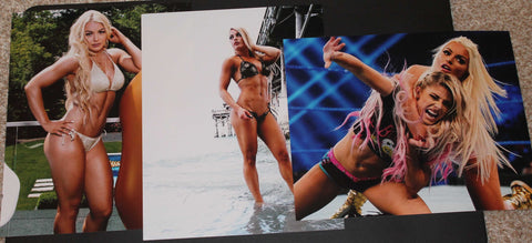 Lot B 3 Mandy Rose Unsigned Photos