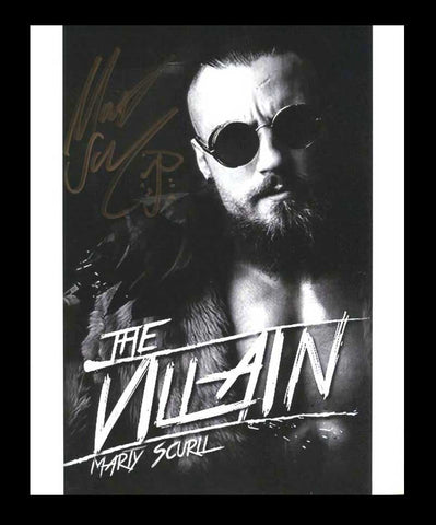 Marty Scurll Pose 4 Signed Photo COA