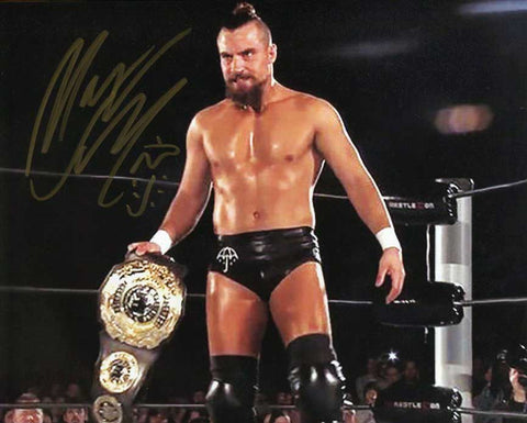 Marty Scurll Pose 5 Signed Photo COA