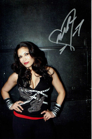 Melina Pose 3 Signed Candid Photo COA