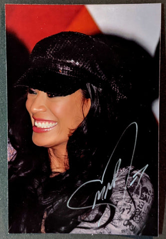 Melina Pose 7 Signed Candid Photo COA