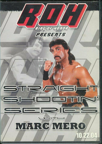 ROH Ring Of Honor Straight Shooting Marc Mero 10.22.04 DVD