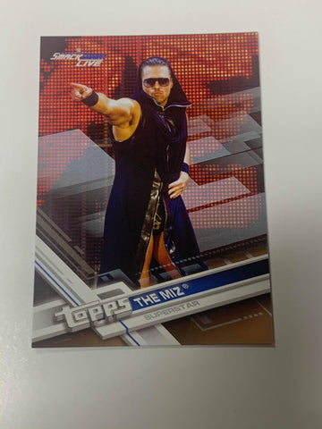 Miz WWE 2017 Topps Card (Bronze Parallel Version)