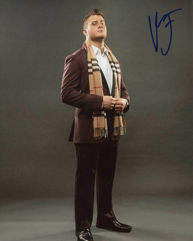 MJF Maxwell Jacob Friedman (Inner Circle) AEW Pose 1 Signed Photo COA