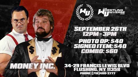 In-Store Meet & Greet with Money Inc. (IRS/Dibiase) Sat Sept 26th from 12-3PM TIX NOT MAILED (CHOOSE COMBO $60/SIGNED ITEM $40/PHOTO OP $40)