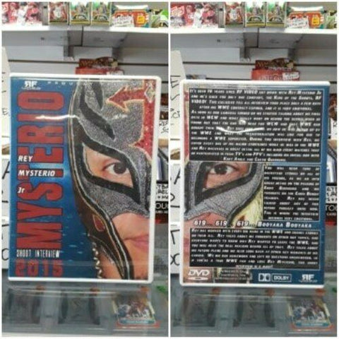 RF Video Rey Mysterio Jr Shoot Interview 2015 DVD