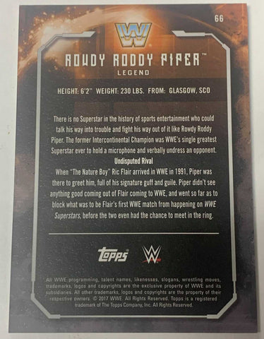 Roddy Piper Elite Hall of Fame