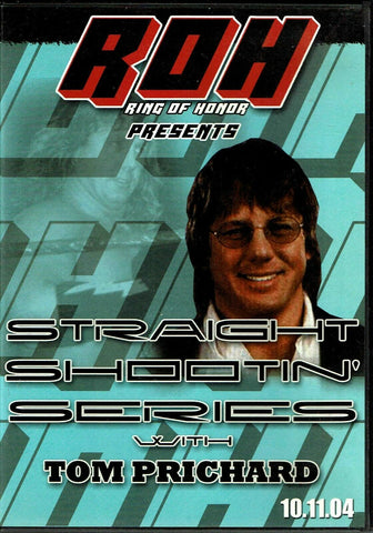 ROH Ring Of Honor Straight Shootin' Tom Prichard DVD