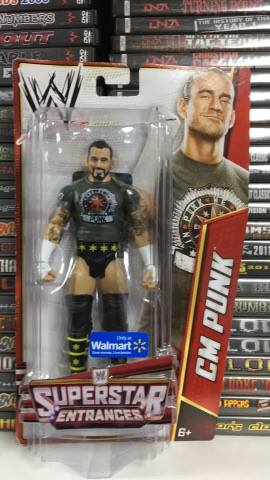 CM Punk WWE Superstars Entrance Exclusive