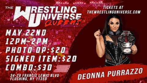 In-Store Meet & Greet with Deonna Purrazzo Sat May 22nd from 12-2PM TIX NOT MAILED (CHOOSE COMBO $30/SIGNED ITEM $20/PHOTO OP $20)