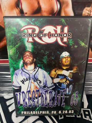 ROH Ring Of Honor WrestleRave 6/28/03 Philadelphia, PA DVD OOP