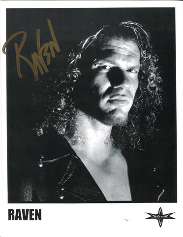 Raven Signed Photo Pose 4 COA