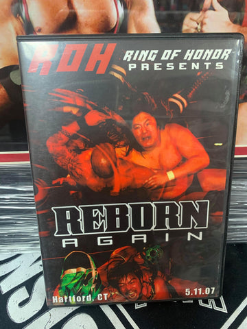 ROH Ring Of Honor Reborn Stage Two 2004 Chicago Ridge, IL 4/24/04 DVD OOP