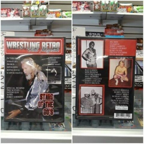 Wrestling Retro Stars of the 80s DVD