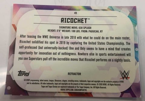 Ricochet WWE Elite Series 69 Figure
