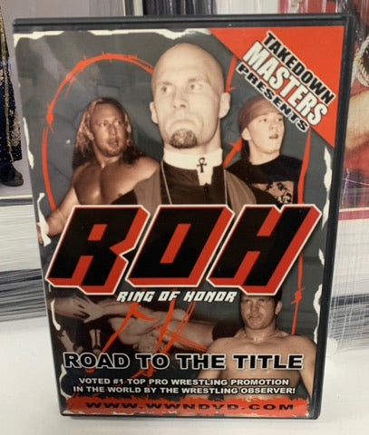 ROH Ring Of Honor Road To The Title Philadelphia, PA 6/22/02 DVD OOP
