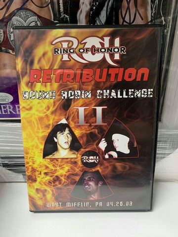 ROH Ring Of Honor Round Robin Challenge 2 4/26/03 DVD OOP