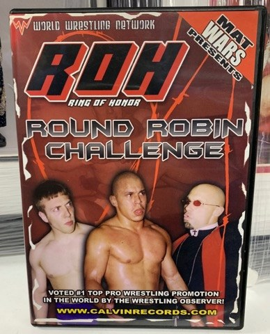 ROH Ring Of Honor Round Robin Challenge Philadelphia, PA 3/30/02 DVD OOP